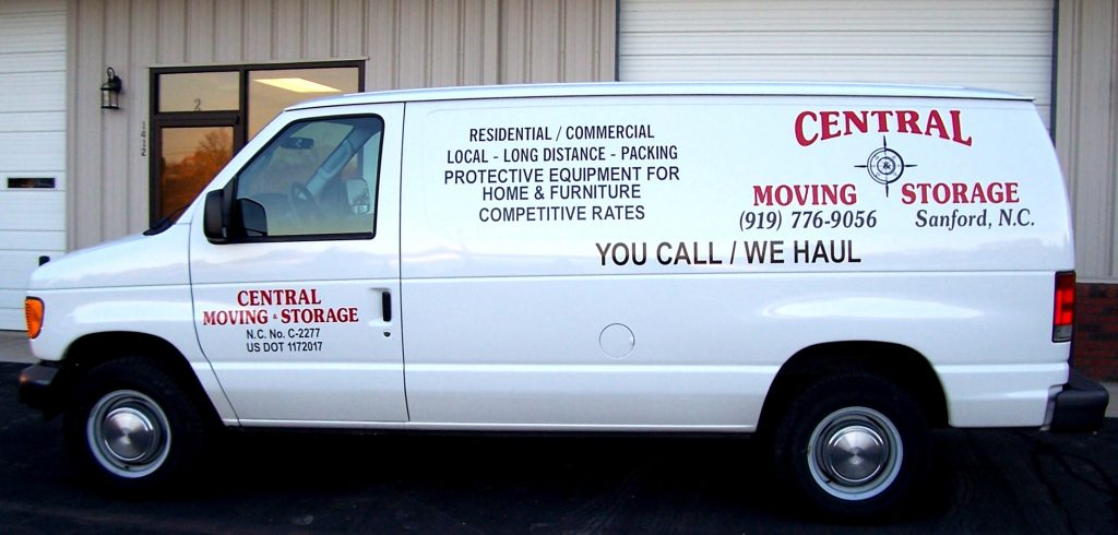 Central Moving Storage Inc Local And Long Distance